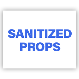 Picture of 14x11 Photo Sanitize Props Blue