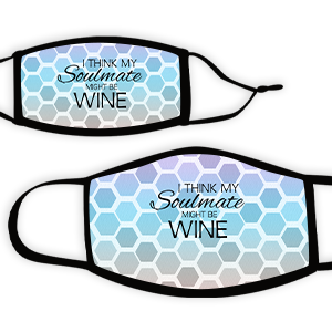 Picture of Hex multi Soulmate Wine Face Mask