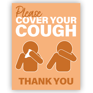 Picture of 18x24 School Cough Orange