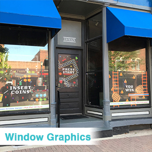 Picture of Window Graphics -Double Sided